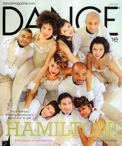 Dance Magazine Cover - 6/1/2016