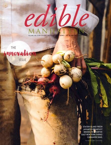 Edible Manhattan Cover - 6/1/2016