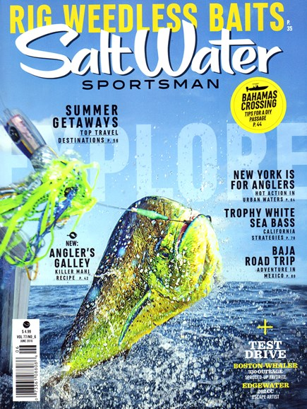 Salt Water Sportsman Cover - 6/1/2016