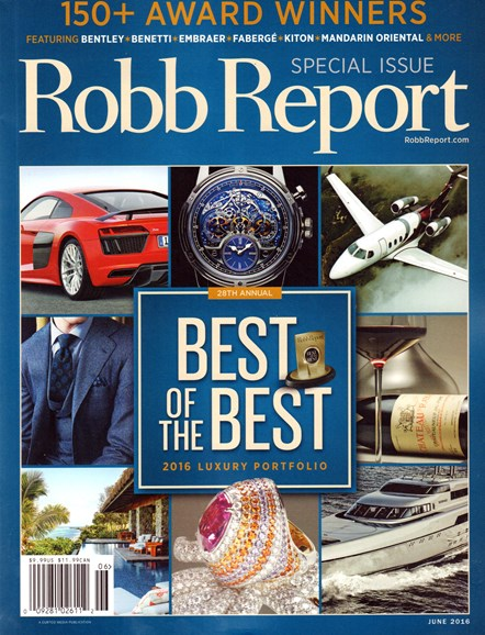 Robb Report Cover - 6/1/2016