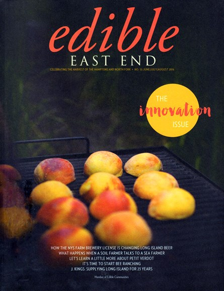 Edible East End Cover - 6/1/2016