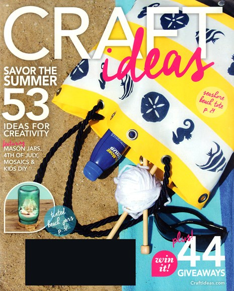 Craft Ideas Cover - 6/1/2016