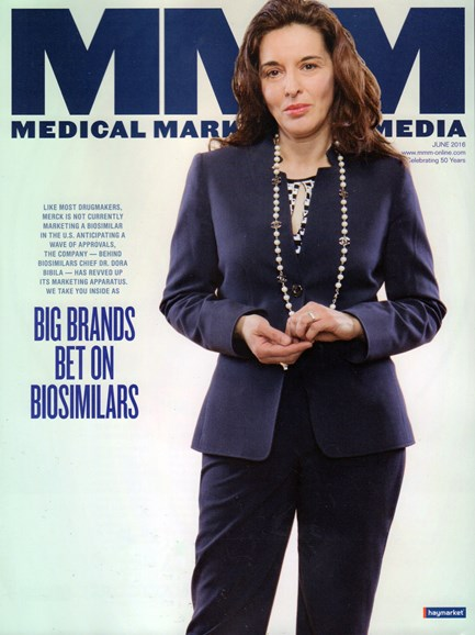 Medical Marketing & Media Cover - 6/1/2016