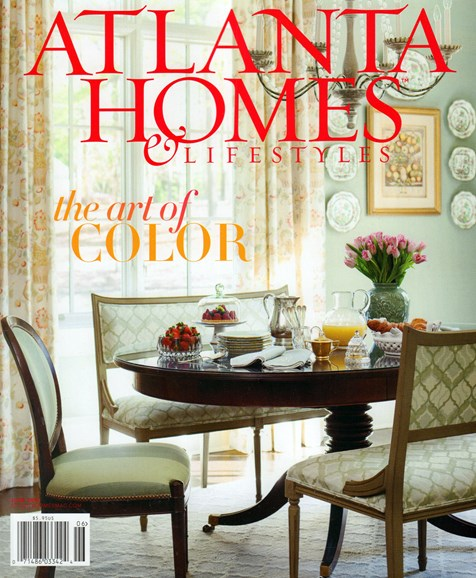 Atlanta Homes & Lifestyles Cover - 6/1/2016
