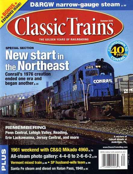 Classic Trains Cover - 6/1/2016