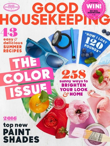 Good Housekeeping Cover - 6/1/2016
