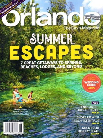 Orlando Magazine Cover - 6/1/2016
