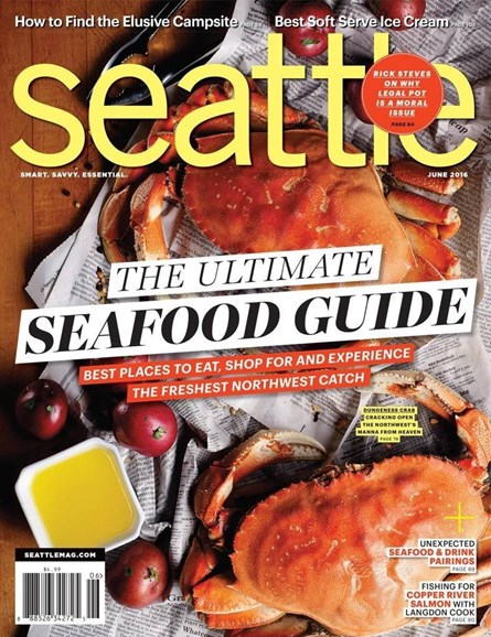Seattle Magazine Cover - 6/1/2016