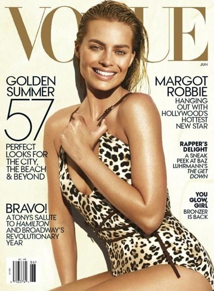 Vogue Cover - 6/1/2016