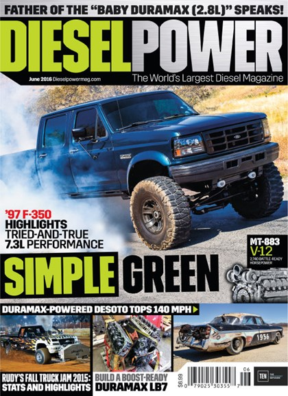 Diesel Power Cover - 6/1/2016