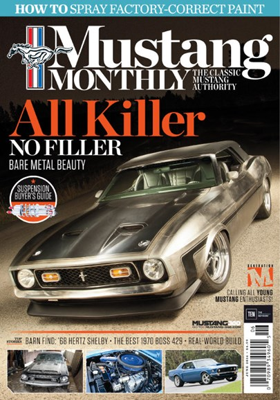Mustang Monthly Cover - 6/1/2016