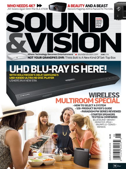 Sound & Vision Cover - 6/1/2016