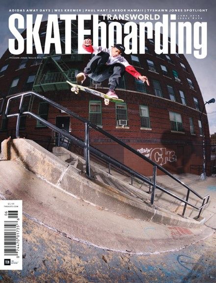 Transworld SKATEboarding Cover - 6/1/2016