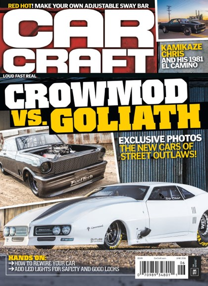 Car Craft Cover - 6/1/2016