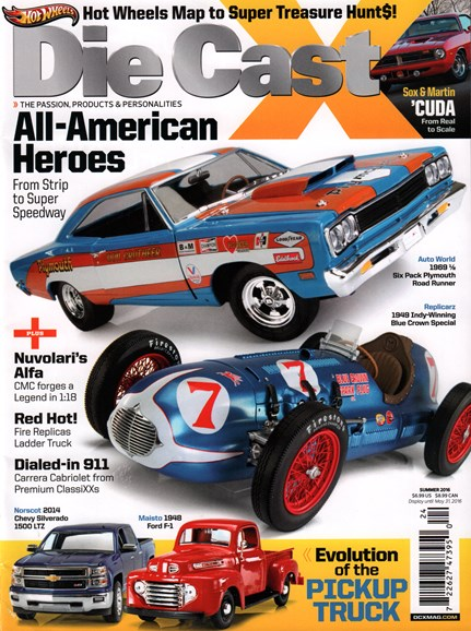 Diecast X Cover - 6/1/2016
