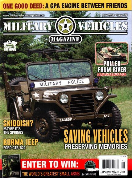 Military Vehicles Cover - 6/1/2016