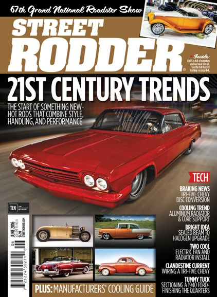 Street Rodder Cover - 6/1/2016