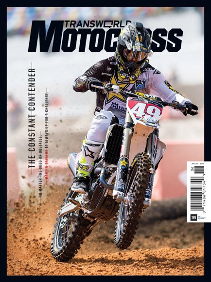 Transworld Motocross Cover - 6/1/2016