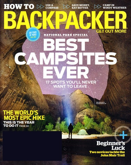 Backpacker Cover - 6/1/2016