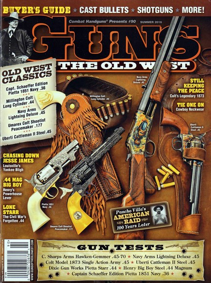 Guns Of The Old West Cover - 6/1/2016