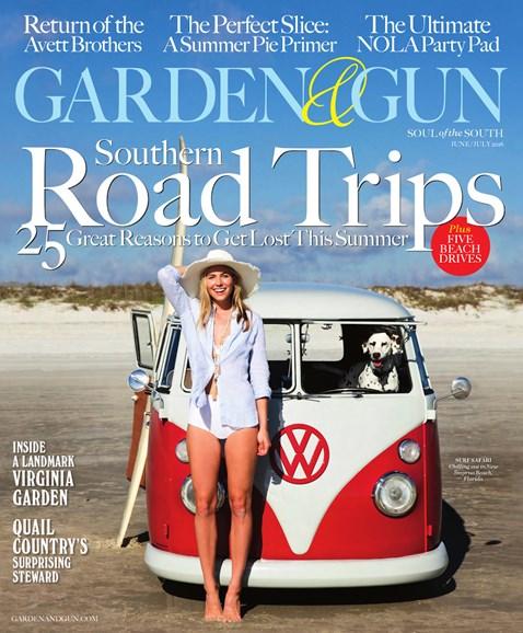 Garden & Gun Cover - 6/1/2016