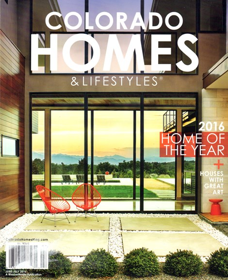 Colorado Homes & Lifestyles Cover - 6/1/2016