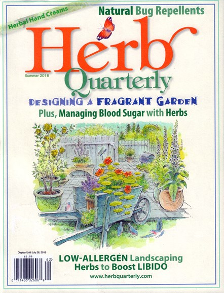 Herb Quarterly Cover - 6/1/2016