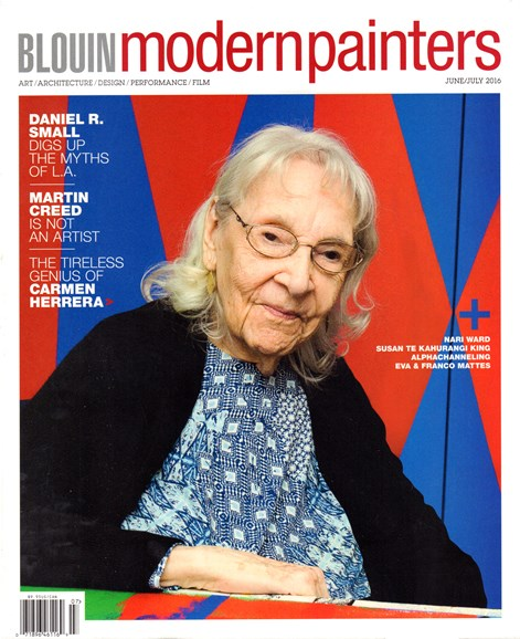 Blouin Modern Painters Cover - 6/1/2016