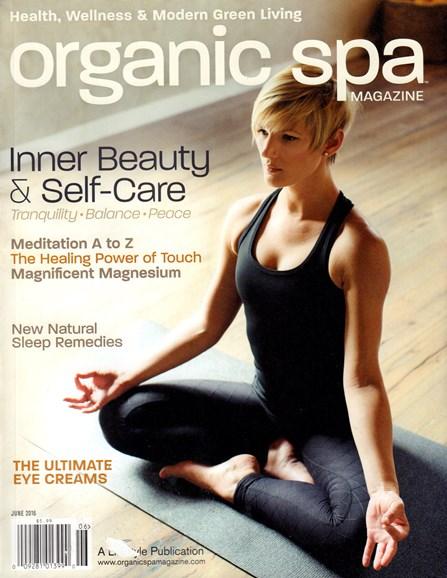 Organic Spa Cover - 6/1/2016