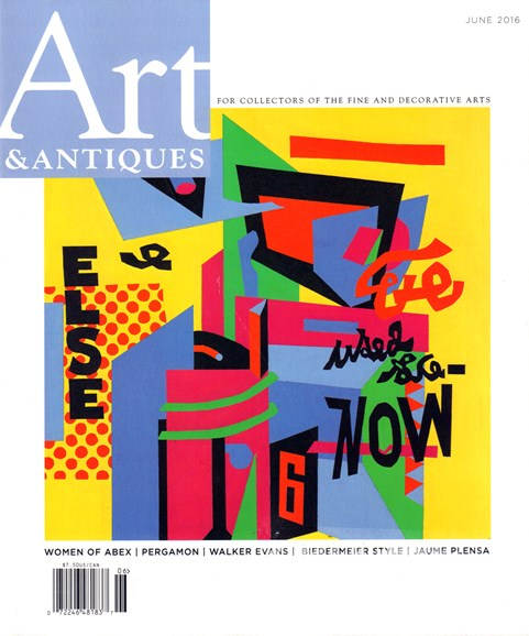 Art & Antiques Cover - 6/1/2016