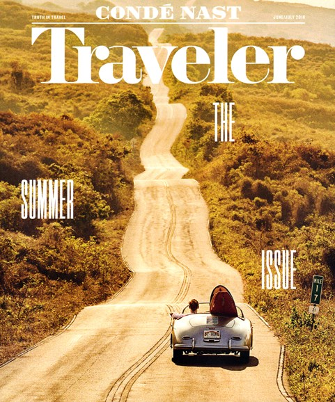 Condé Nast Traveler Cover - 6/1/2016