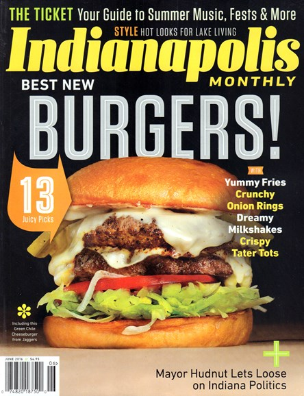 Indianapolis Monthly Cover - 6/1/2016
