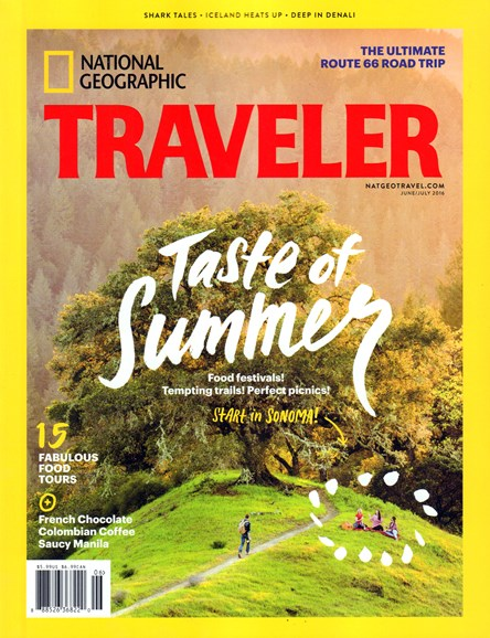 National Geographic Traveler Cover - 6/1/2016