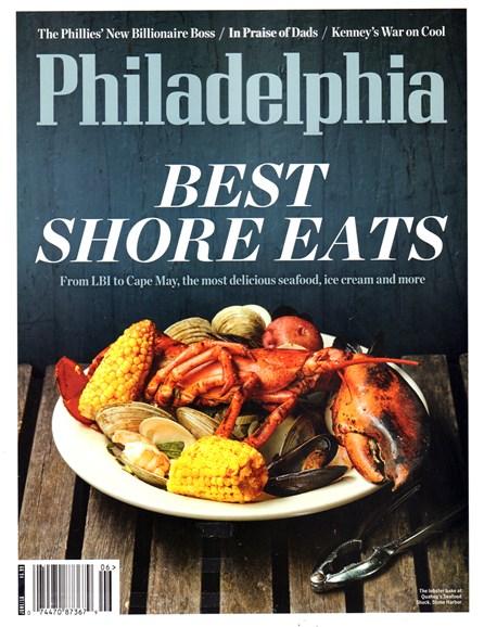 Philadelphia Magazine Cover - 6/1/2016