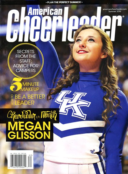 American Cheerleader Cover - 6/1/2016