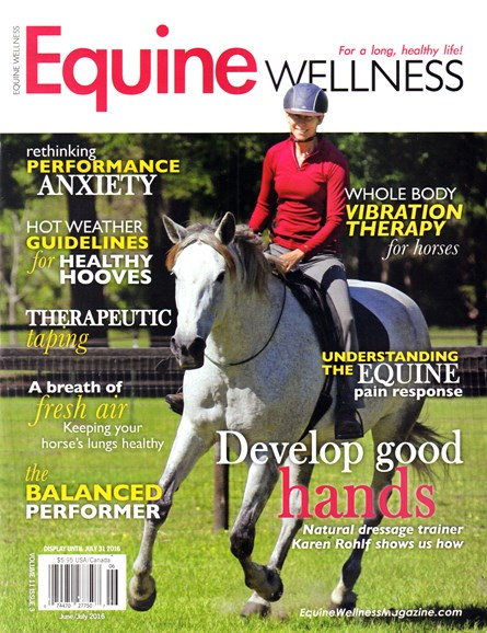 Equine Wellness Cover - 6/1/2016
