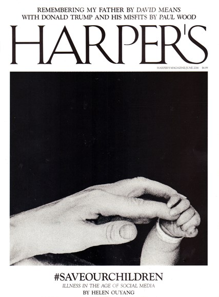 Harper's Cover - 6/1/2016