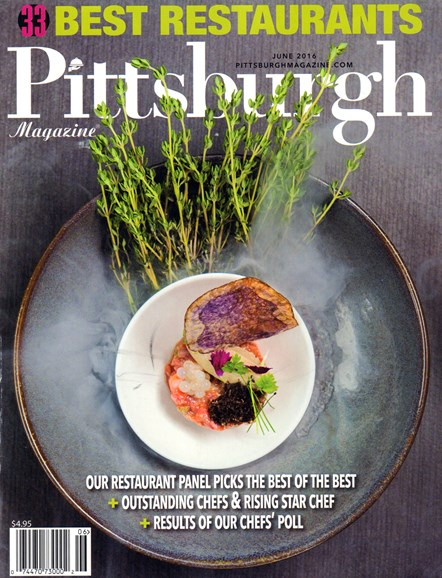 Pittsburgh Magazine Cover - 6/1/2016