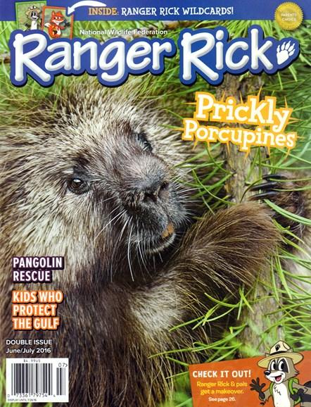 Ranger Rick Cover - 6/1/2016