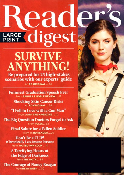 Reader's Digest - Large Print Edition Cover - 6/1/2016