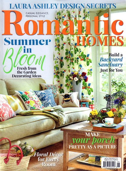 Romantic Homes Cover - 6/1/2016
