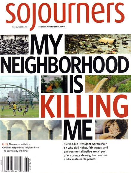 Sojourners Cover - 6/1/2016