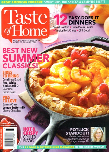 Taste of Home Cover - 6/1/2016