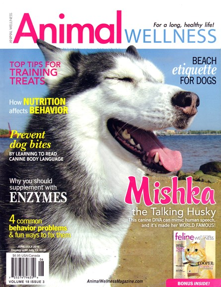 Animal Wellness Cover - 6/1/2016