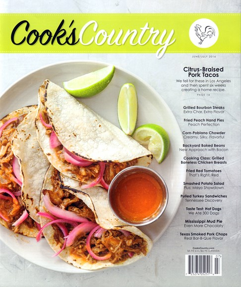 Cook's Country Cover - 6/1/2016