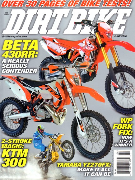 Dirt Bike Cover - 6/1/2016