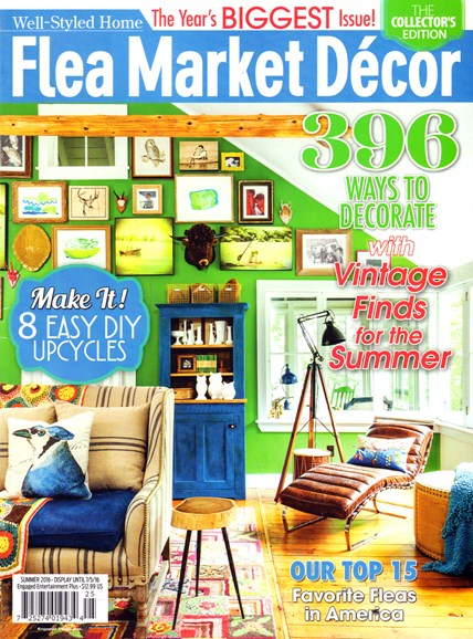 Flea Market Décor Cover - 6/1/2016