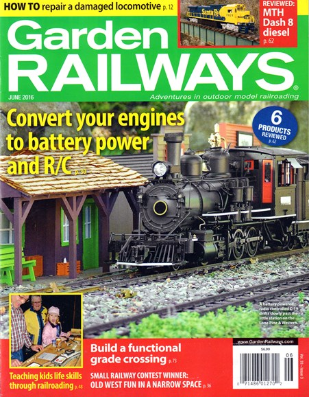 Garden Railways Cover - 6/1/2016