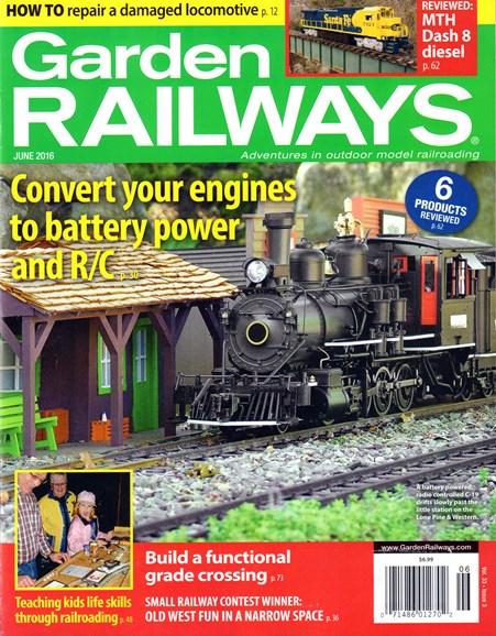 Garden Railways Cover - 6/1/2016