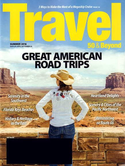 Travel 50 & Beyond Cover - 6/1/2016